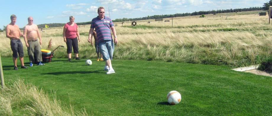 Dänemark Fußballgolf - Soccergolf