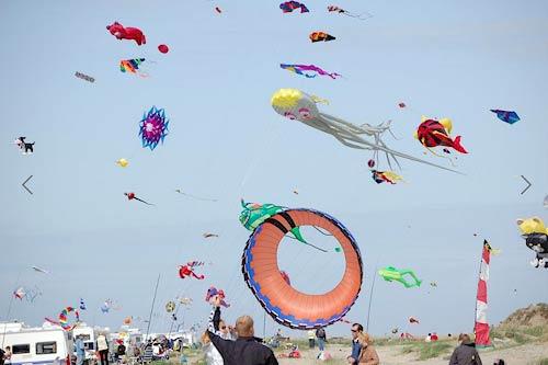Dänemark urlaub mit kindern - Das Drachenfest auf Römö