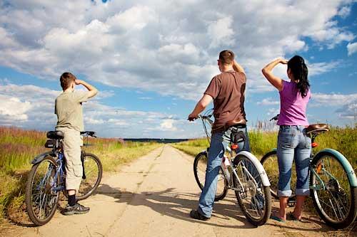 Mit dem Fahrrad auf Römö - Urlaub mit Kindern in Dänemark
