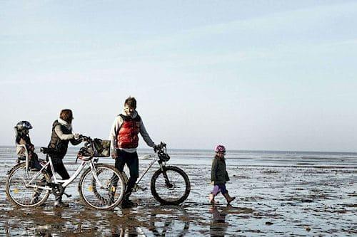 Radfahren, Fahrradwege und Fahrradverleih auf Römö