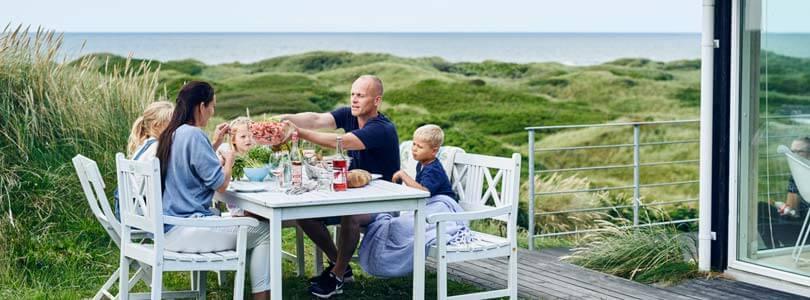 Ferienwohnungen und Ferienhäuser in Dänemark  zur Vermietung