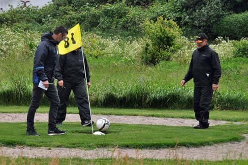 Fußballgolf in Dänemark - Ballum bei Skärbäk/Römö/Tondern