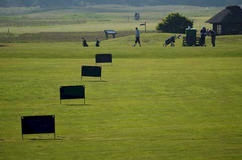 Römö Golf bei Havneby