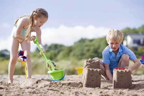 Sandschloß Strandburg - Dänemark urlaub mit kindern