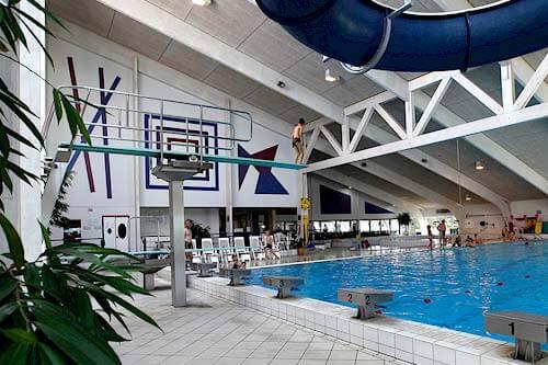 Schwimmhalle Schwimmbad Skaerbaek Ferienzentrum - Römö