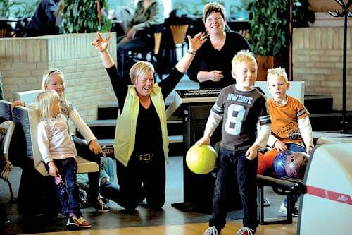 Bowling in Skaerbaek Ferienzenter Ferienzentrum - Römö