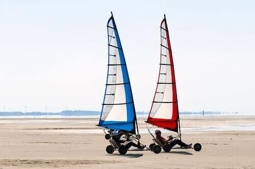 Strandsegeln Römö in Dänemark - Lernen und Preise