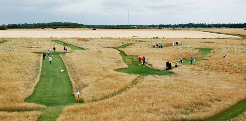 Fußballgolf Dänemark - Soccergolf