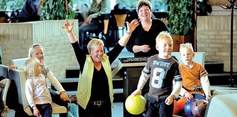 Bowling in Skaerbaek Feriencenter - Rømø - Dänemark