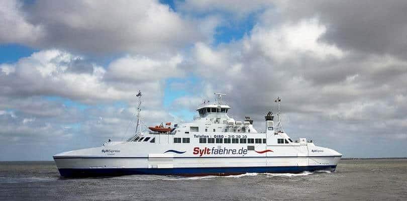 Fähre Römö Sylt - Dänemark