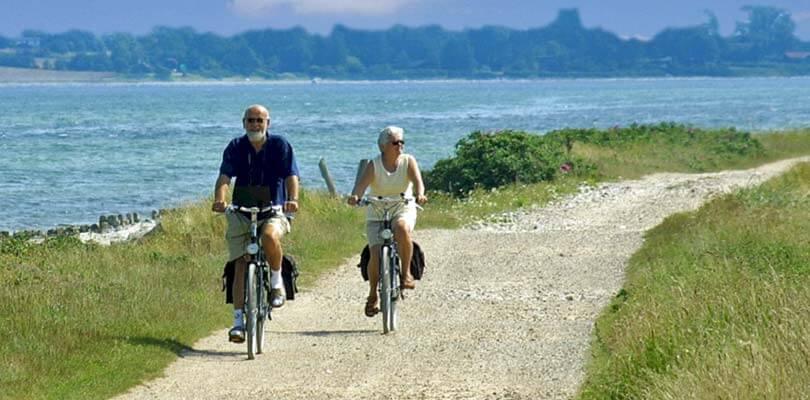 Ferienhäuser auf der Insel Langeland