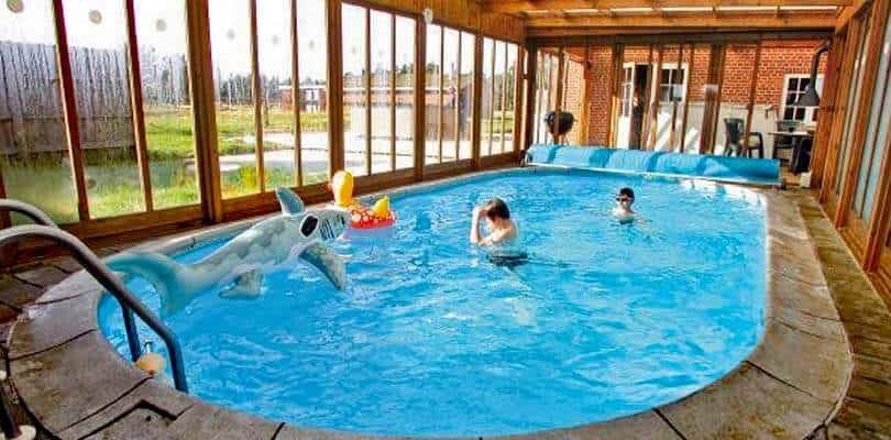 Urlaub im Poolhaus Dänemark Feiern
