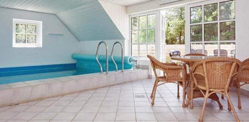 Poolhaus mit Hund auf Römö