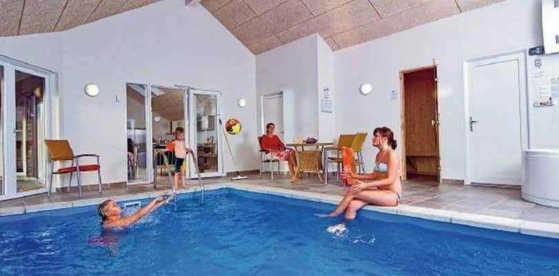 Aufenthalt im Ferienhaus mit Pool in Dänemark (Römö)