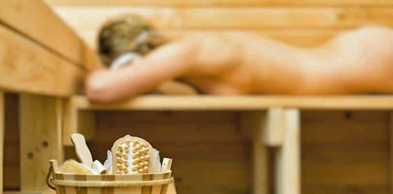 Dänemark Poolhaus mit Sauna auf Römö