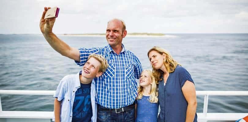 Die Fähre von Romo Dänemark nach Sylt