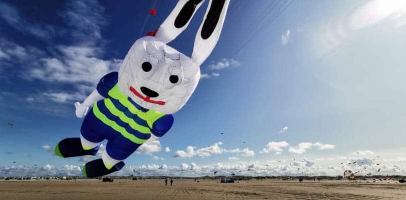 Drachenfest 2020 auf Römö Strand