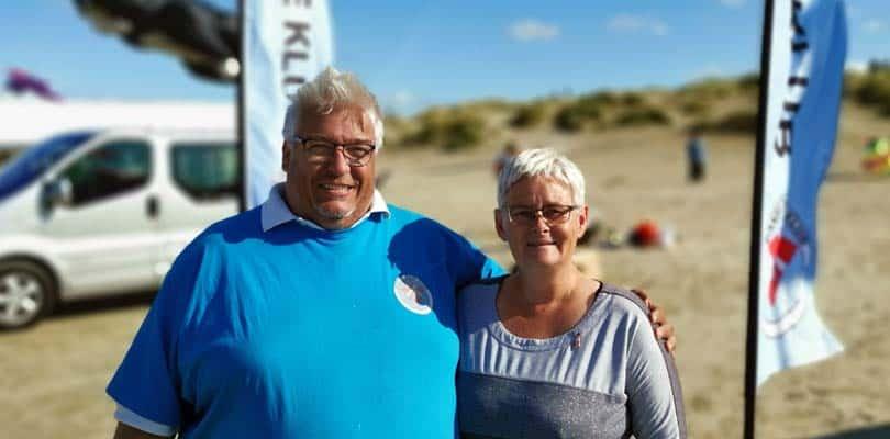 Vorsitzender Dansk Drage Klub - Morten Rasmussen und seine frau Tina Rasmussen