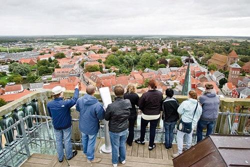 Ribe Dom Turm Aussicht